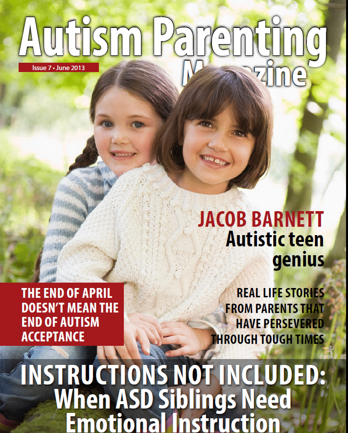 Issue 7 – Instructions not Included When ASD Siblings Need Emotional Instruction