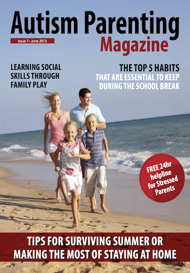 Issue 8 - Autism and the vacation season