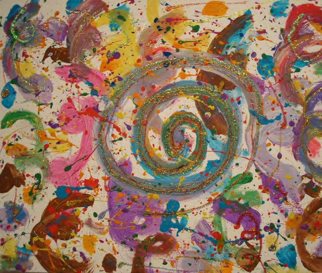 Candace Waters Nonverbal Autistic Artist