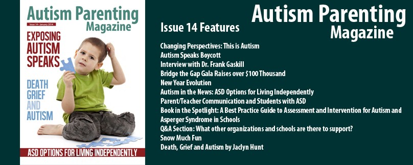 Issue 14 – Exposing Autism Speaks