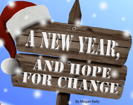 A new year and hope for change