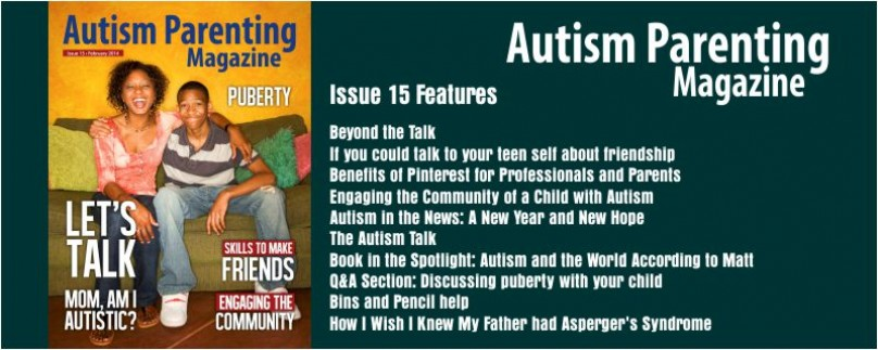 Issue 15 – Let's Talk – Mom am I Autistic?