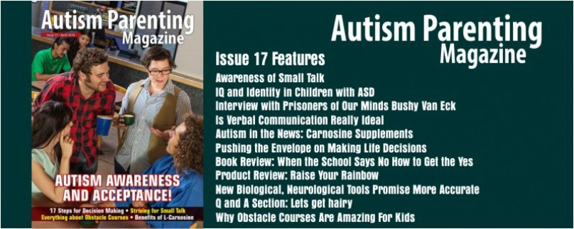 Issue 17 – Autism Awareness and Acceptance!