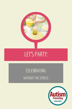 autism parties without the stress