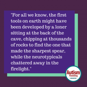 autism quote first tools firelight