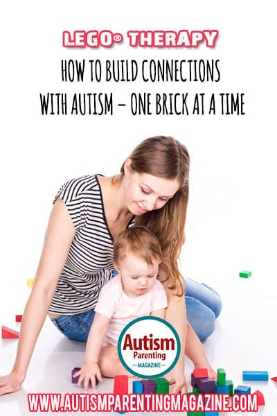LEGO Therapy: How to Build Connections with Autism - One Brick at a Time http://www.autismparentingmagazine.com/lego-therapy-how-to-build-connections-with-autism-one-brick-at-a-time/