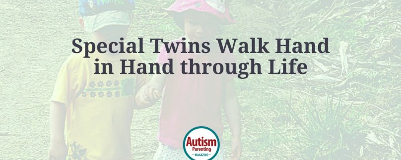 Special Twins Walk Hand-in-Hand Through Life