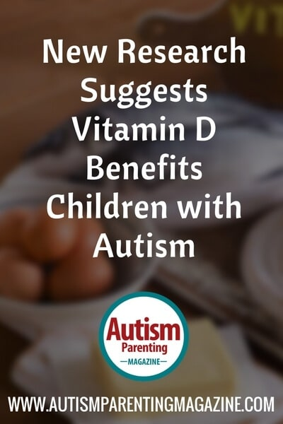 New Research Suggests Vitamin D Benefits Children with Autism https://www.autismparentingmagazine.com/vitamin-d-benefits-children-autism