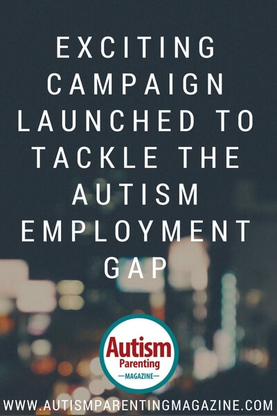 Exciting Campaign Launched to Tackle the Autism Employment Gaphttp://www.autismparentingmagazine.com/autism-employment-gap-campaign