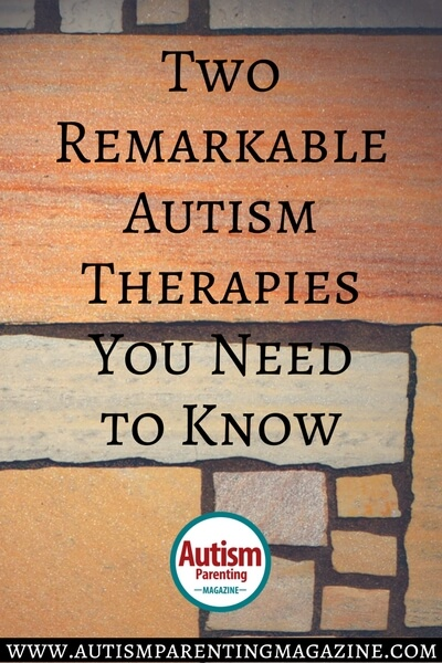 Two Remarkable Autism Therapies You Need to Know http://www.autismparentingmagazine.com/remarkable-autism-therapies/