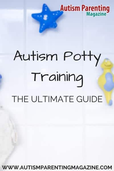 Autism potty training takes a lot of time and patience. This free guide gives you steps (and tips) in the toilet training process as well as issues that your child may encounter and how to address them. Download this free guide http://www.autismparentingmagazine.com/autism-potty-training-guide/