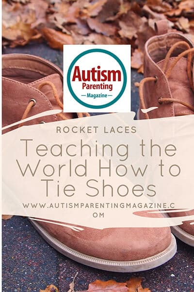 Teaching children with autism to tie their shoes using ...