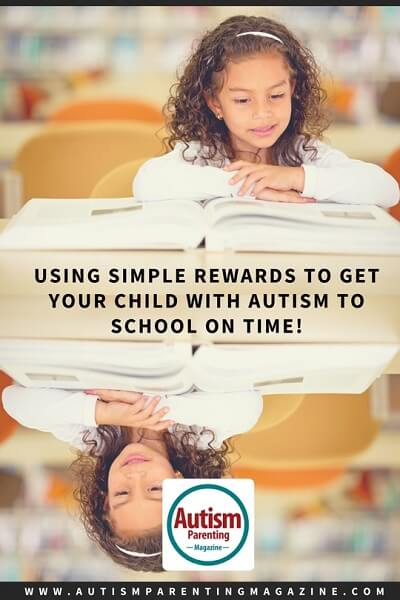 Using Simple Rewards to Get Your Child with Autism to School on Time! http://www.autismparentingmagazine.com/using-simple-rewards-to-get-child-with-autism-to-school-time