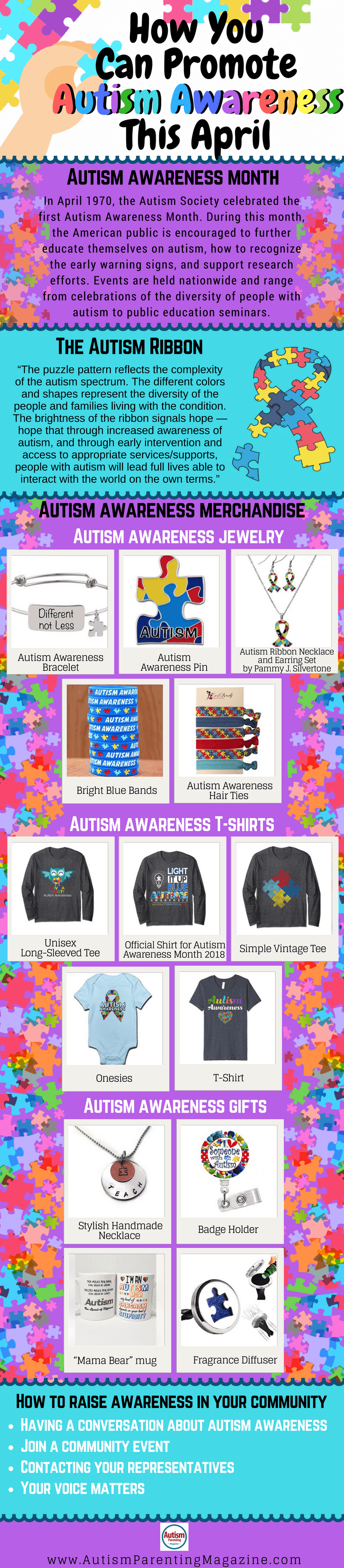 How You Can Promote Autism Awareness This April Autism Parenting