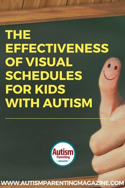 Effectiveness of Visual Scheduling for Kids with ASD