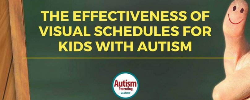 The Effectiveness of Visual Schedules for kids with Autism