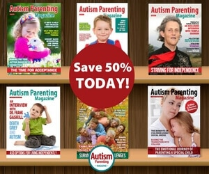 Save 50% on Autism Parenting Magazine