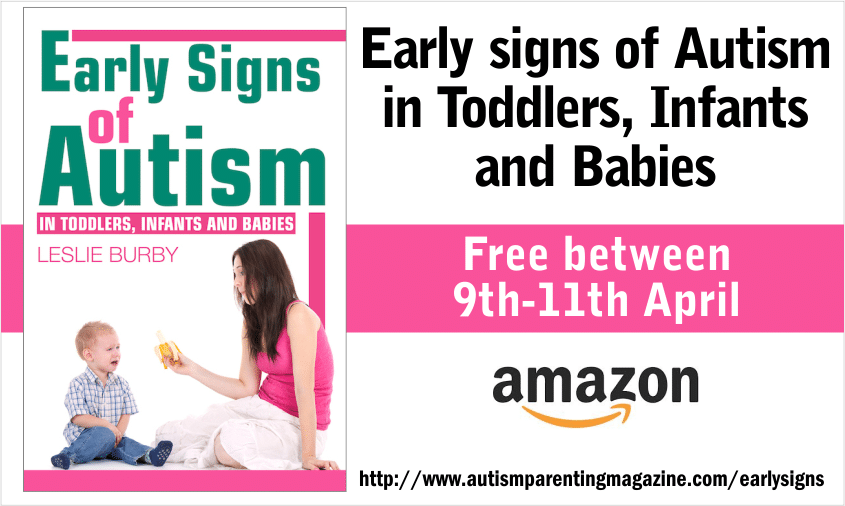 Early Signs of Autism in Toddlers, Infants and Babies - Free on Amazon between 9th and 11th April at http://www.amazon.com/Early-Autism-Toddlers-Infants-Babies-ebook/dp/B00I5ETPWM #Autism