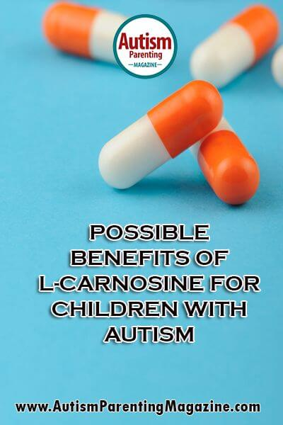 Possible Benefits of L-Carnosine for Children with Autism - https://www.autismparentingmagazine.com/news-benefits-l-carnosine-autistic-children/