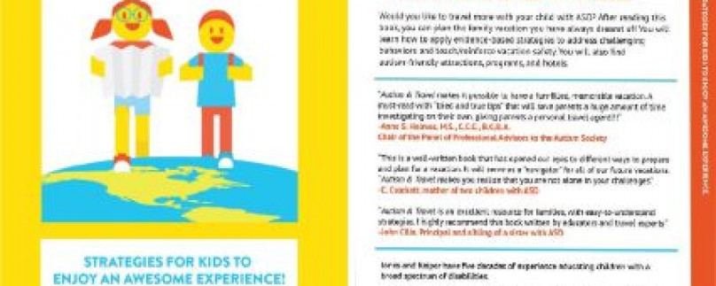 Book Feature: Autism & Travel: Strategies for Kids to Enjoy an Awesome Experience
