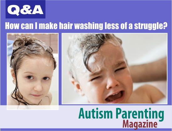 Hair Washing Struggle