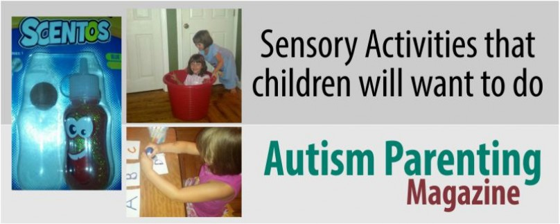 Sensory Activities that children will want to do