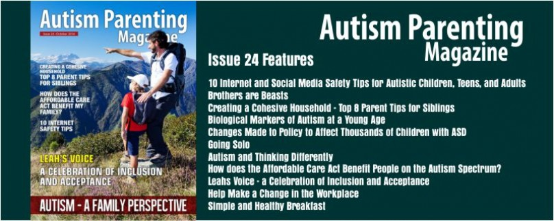 Issue 24 – Autism: A Family Perspective