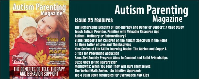 Issue 25 – The Benefits of Tele-Therapy and Behavior Support