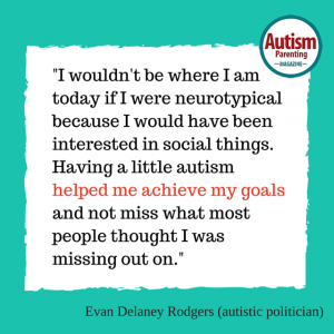 autism quote Evan Delaney Rodgers