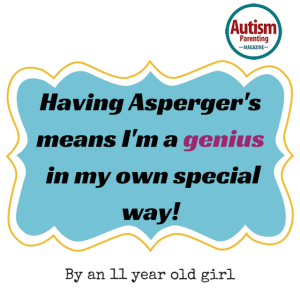 asperger quote genius special