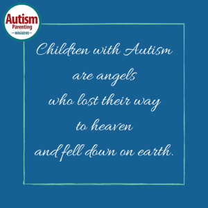autism quote angels