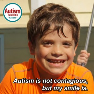 autism quote smile
