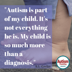 autism quote toddler feet