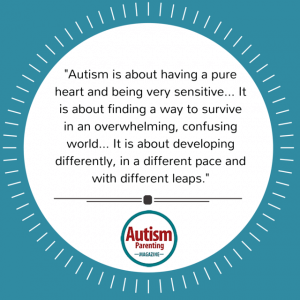 autism quote pure heart sensitive