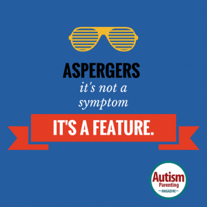 aspergers quote symptom feature