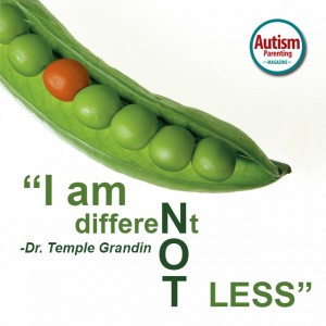 autism quote temple grandin