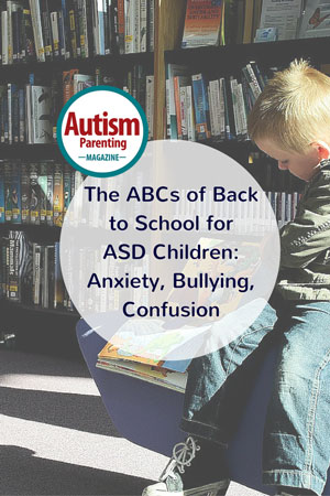 autism anxiety bullying confusion