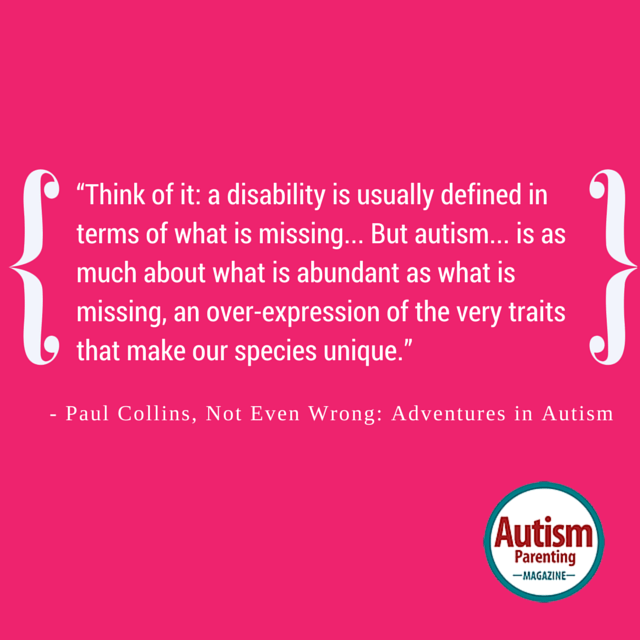 autism quote unique