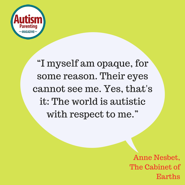 autism quote opaque