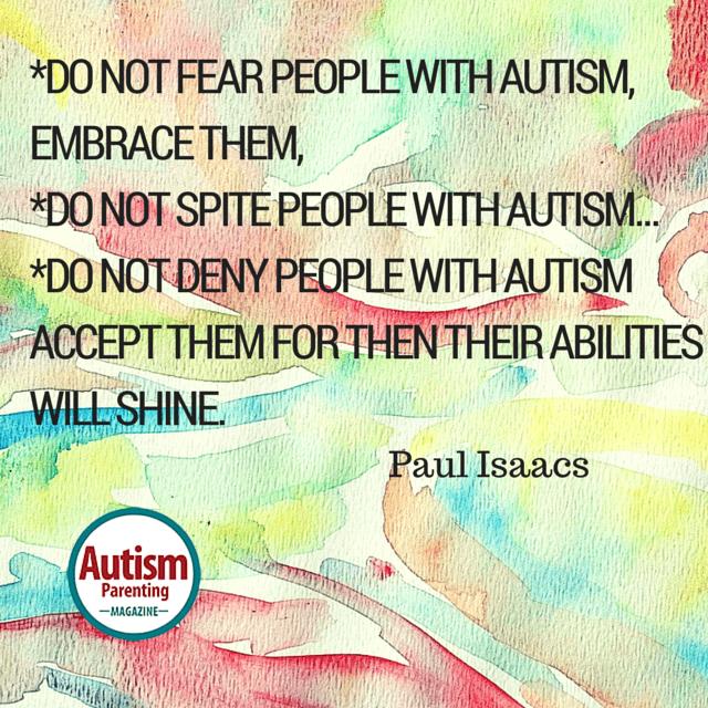 autism quote acceptance