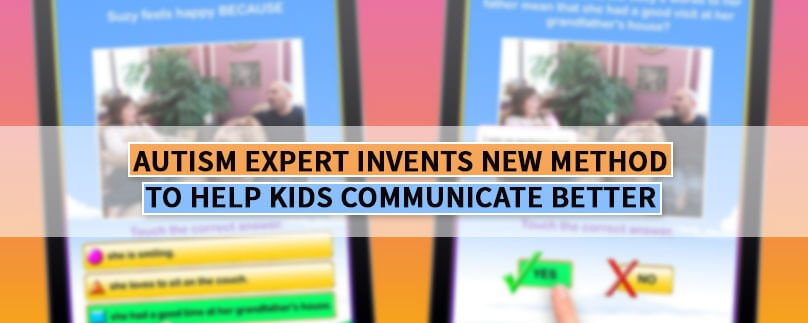 Autism Expert Invents New Method to Help Kids Communicate Better