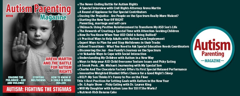 Issue 42 – Autism: Fighting the Stigmas