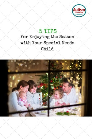 Enjoying season with Special Needs Child