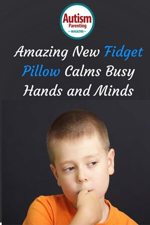 New Fidget Pillow Calms Busy Hands and Minds