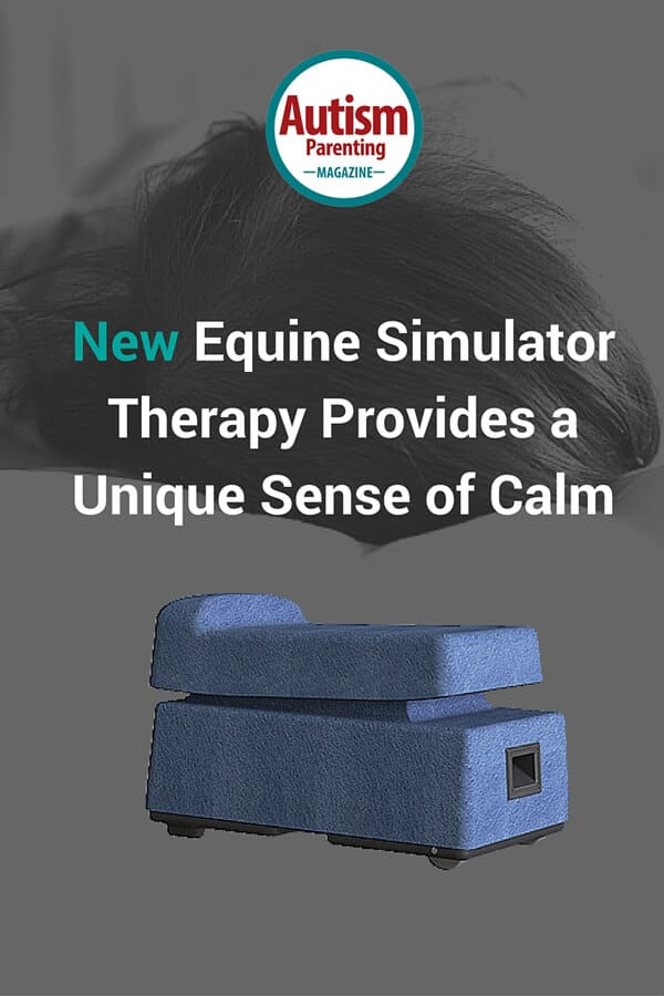 Relaxing Equine Simulator Therapy