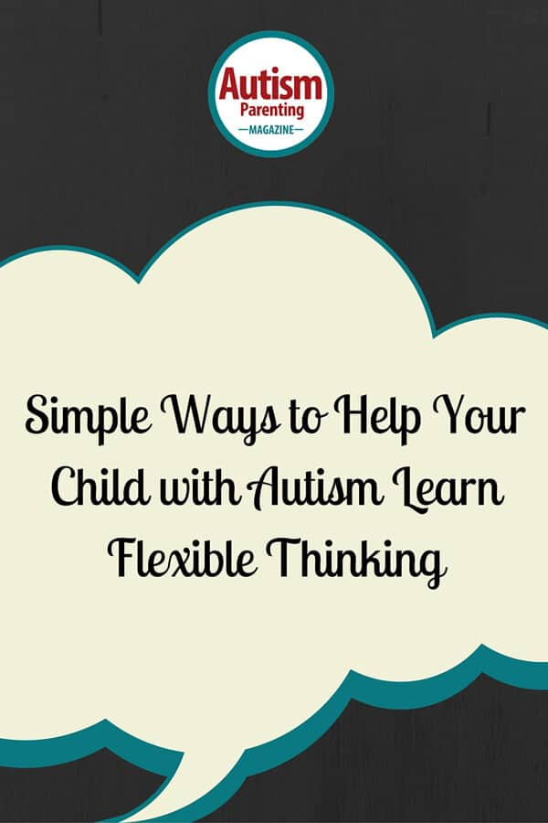 helping autism child learn flexible thinking