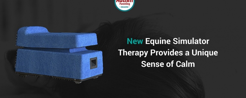 New Equine Simulator Therapy Provides a Unique Sense of Calm