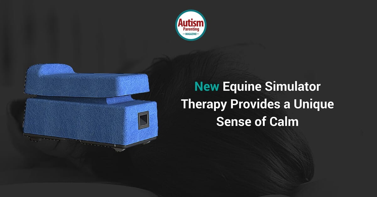 new equine simulator therapy