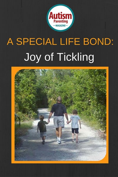Bond with joy of tickling