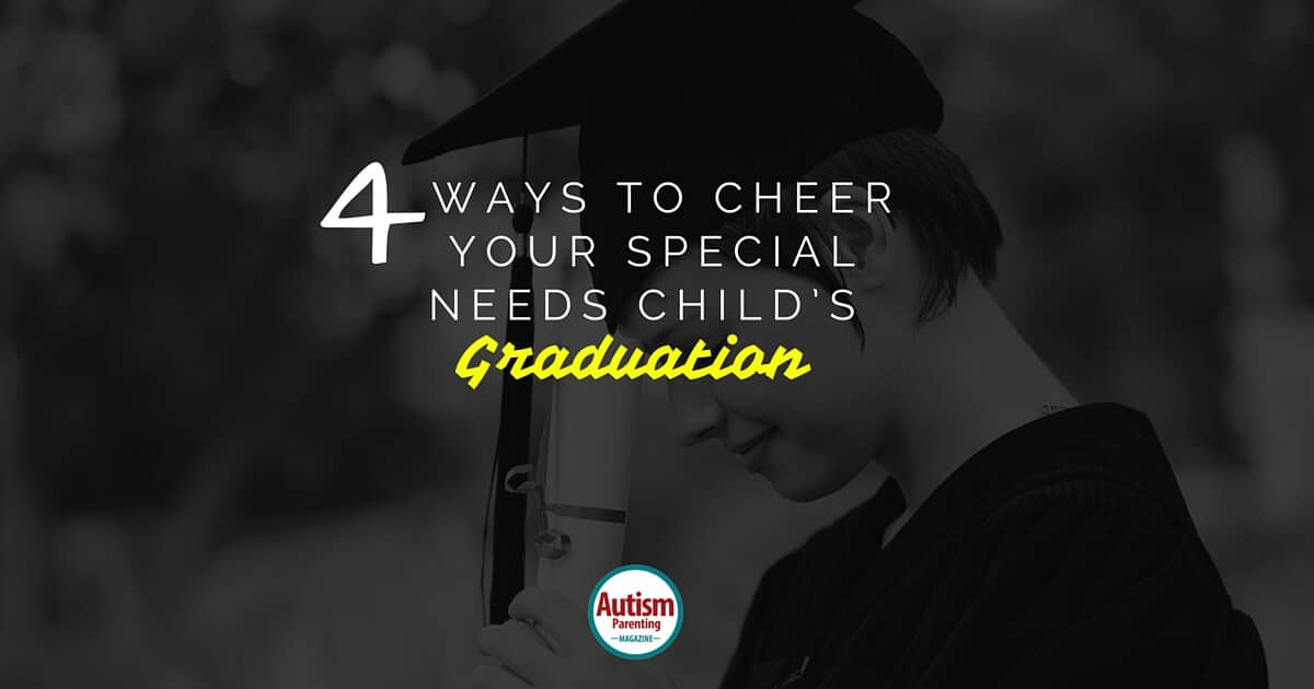 Ways to cheer your special needs child's graduation